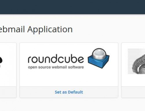 cPanel Webmail: 3 Different Applications