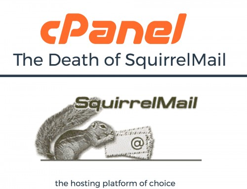 cPanel will be removing SquirrelMail from cPanel & WHM by the end of the year.